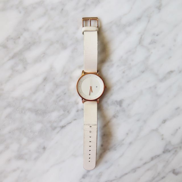 Simple Watch Co 'Earl' watch in rose gold