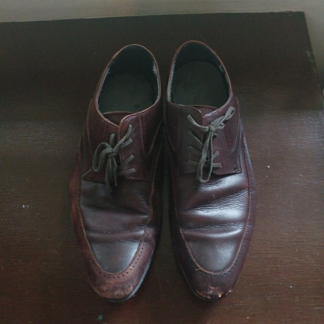Size 40 leather shoes