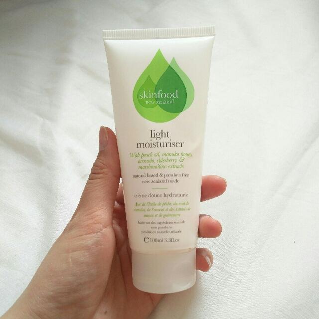 Skinfood light moisturiser