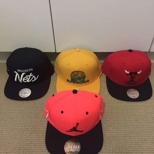 Snapback Hats $30 each