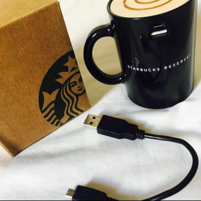 Starbucks行動電源 馬克杯