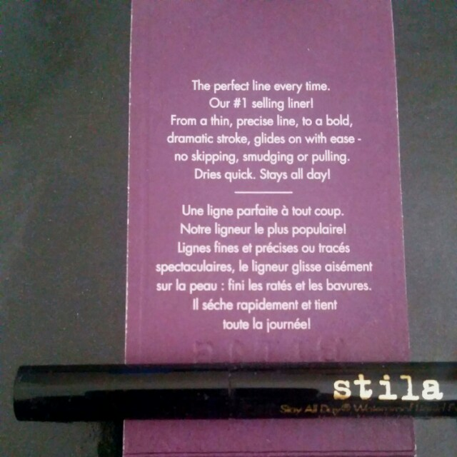 Stila Stay All Day Waterproof Black Eyeliner Mini *NEW*