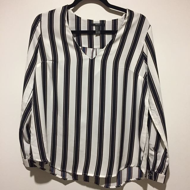 Striped Blouse (S)