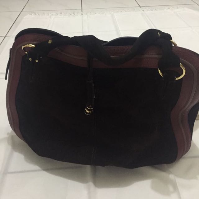 Suede Women Bag