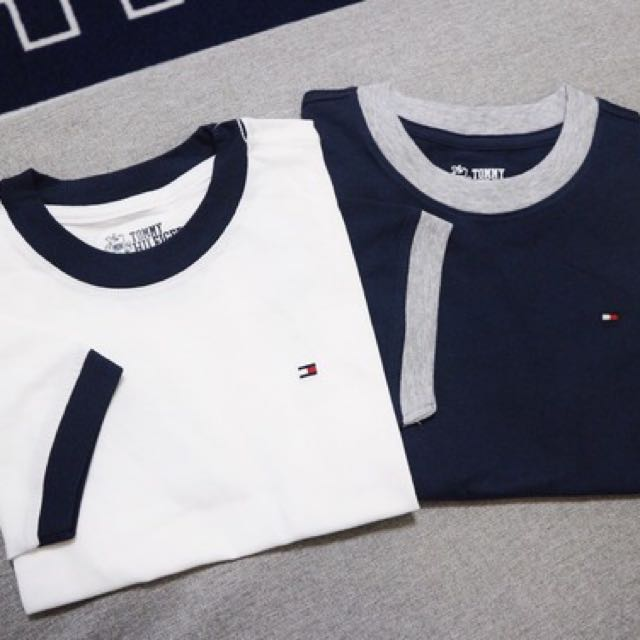 c0a2b974 Tommy Hilfiger Ringer Tee, Women's Fashion, Women's Tops on Carousell