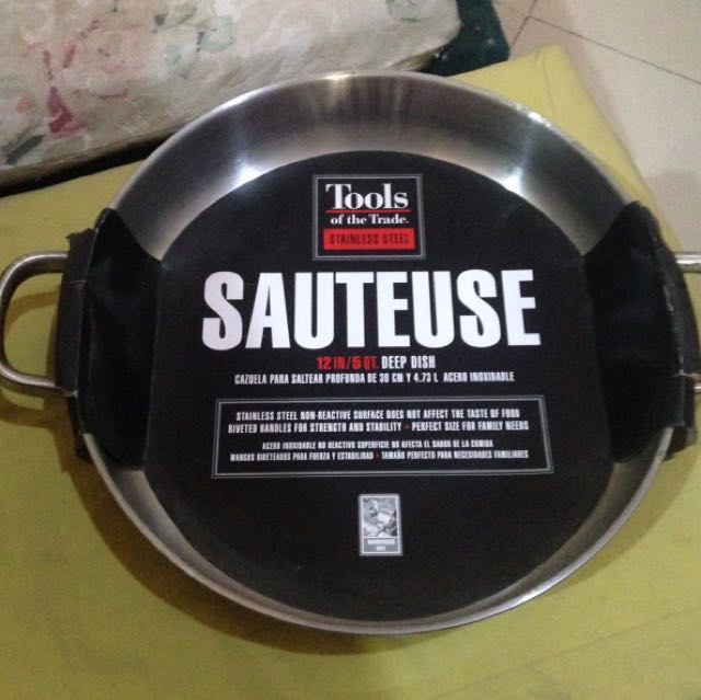 Tools of the trade stainless steel sauteuse