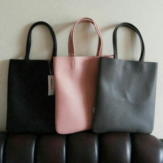 Tote Bag Wanita Miniso Shoulder Bag Tas Cewek