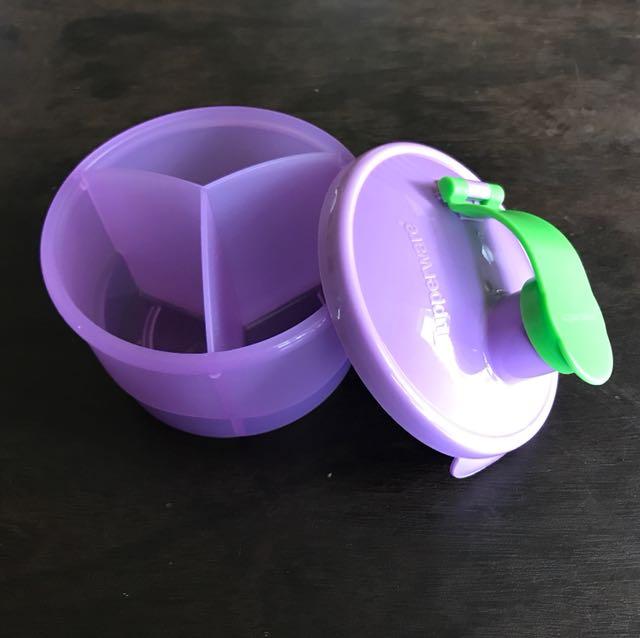 Tupperware divided Formula dispenser, Babies & Kids, Nursing & Feeding on Carousell