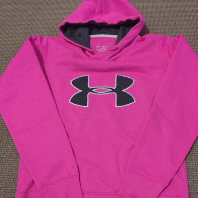 Under Armour Womens Pink Hoodie size S