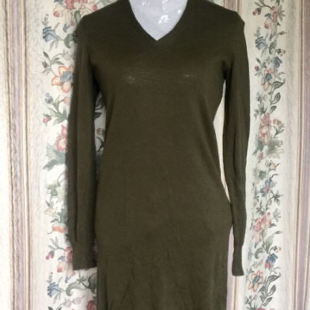 Uniqlo Knitted Dress LS