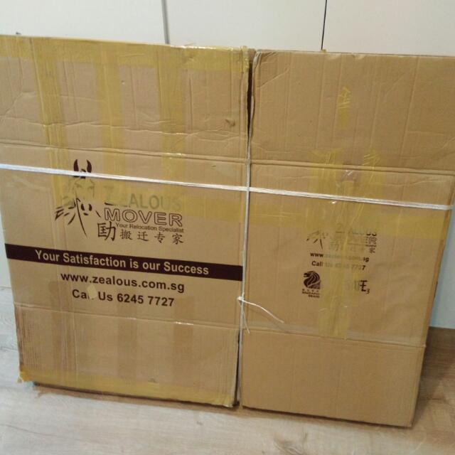 Used Carton Cardboard Boxes For Moving House Furniture Others On