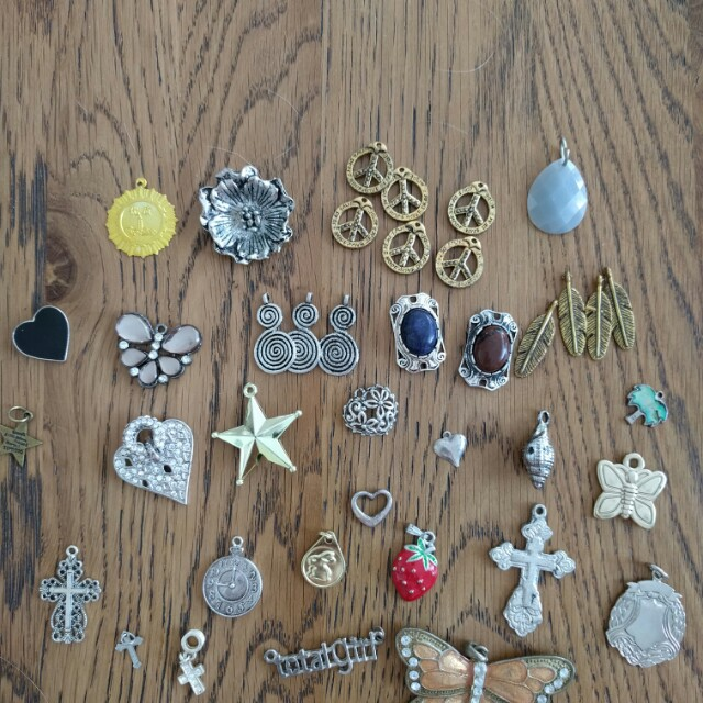 Various charms/pendants