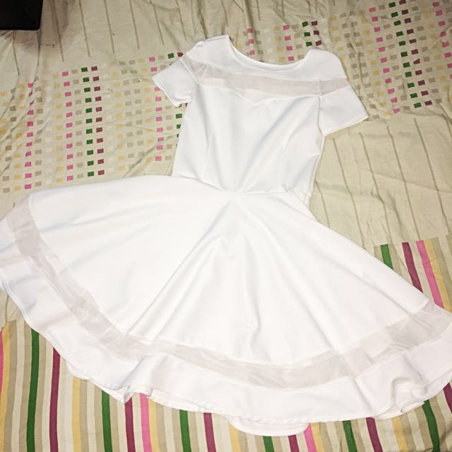White Dress (used once)