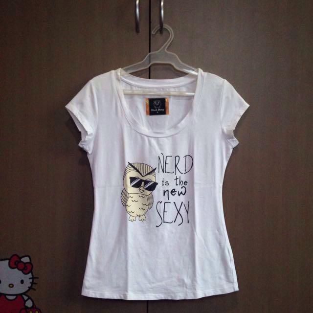 White Nerd Shirt