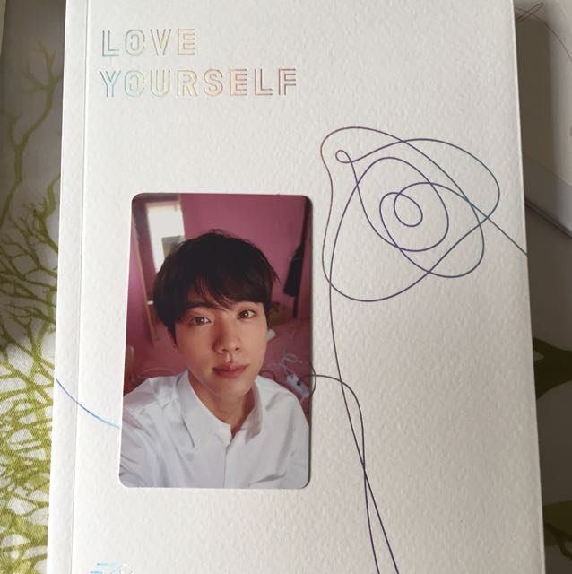 [WTT] Love Yourself Ver. L Jin to Taehyung or Jungkook