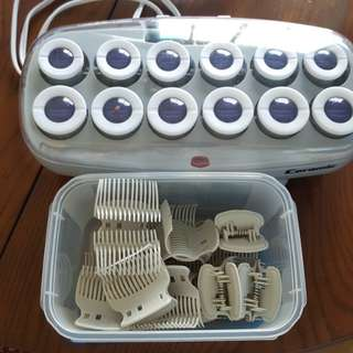 Babyliss Ceramic heated curlers.  Brand new!