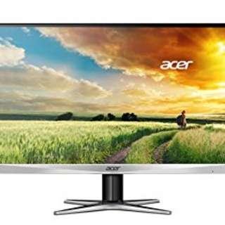 Acer G257HU WQHD IPS 1440p Monitor 60Hz