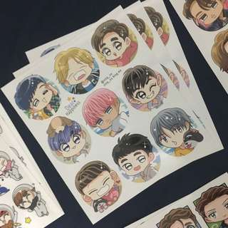EXO Dear Happiness Sticker