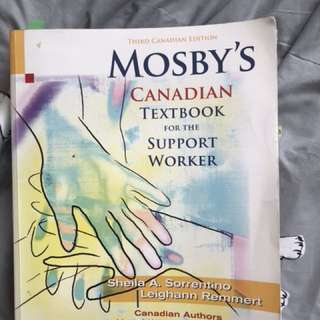 Mosby's Canadian Textbook for Support Worker