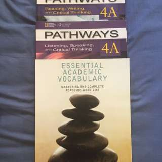 Pathways 4A, Esential Academic vocabulary
