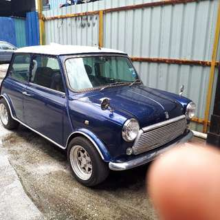 Rover Mini 1.3AT Airbag Injection