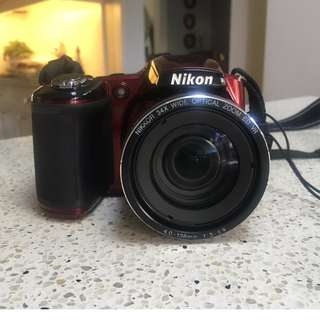 Nikon Coolpix L830 (Red)