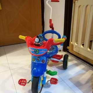 嬰兒 BB 幼童 小童 Thomas & friends 可摺三輪車