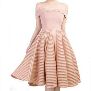 Doublewoot Dititel Dress in Blush