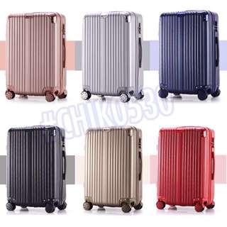 包角防撞行李箱 (凹凸/鏡面)