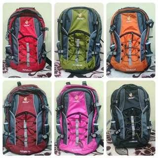Deuter 55 l 55l Backpack beg bag back pack hiking posture support