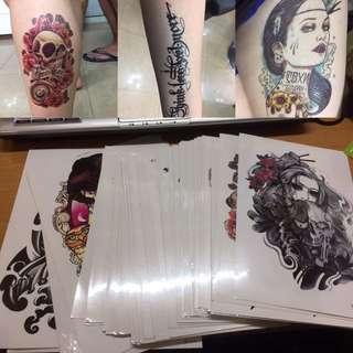 第三輪入貨^_^紋身大貼紙