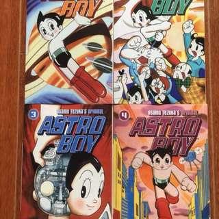 Astro Boy comics Vol 1-4