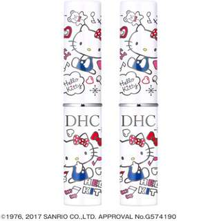❤️💙🇯🇵Limited Edition Japan DHC Hello Kitty Lip Balm