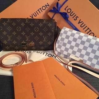 Louis Vuitton Damier Azur PM