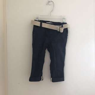 DAVID JONES 3-6 month chinos navy