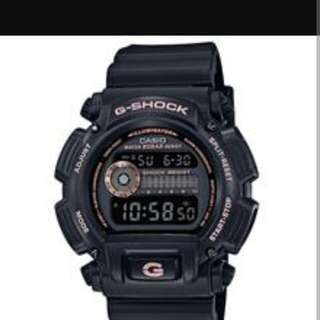 Original Casio G Shock DW-9052GBX-1A4DR