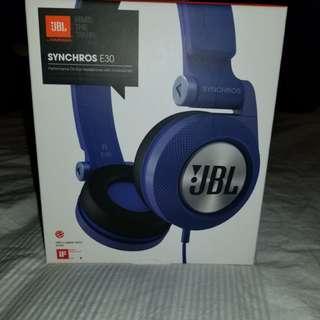 Blue JBL Headphones
