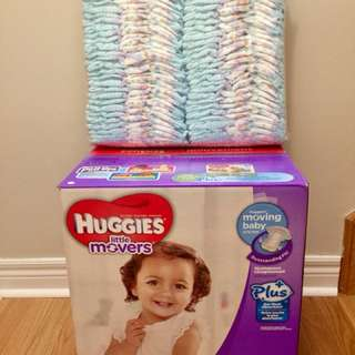Huggies Little Movers size4 Diapers