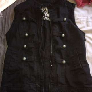 Military look vest size 8
