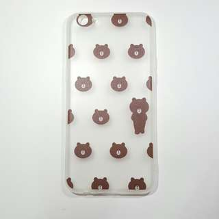 INSTOCK Oppo R9s / R11 / A59 / F1s  brown phone cover