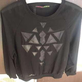 See-thru sweater type