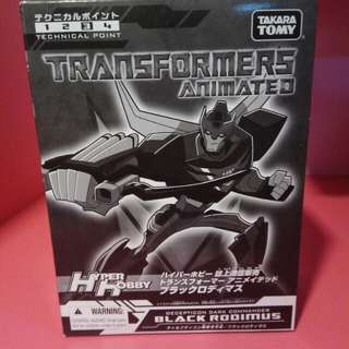 Transformers Hot Rod Animated (Takara Black Version Exclusive)