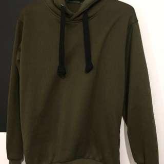 Olive hoodie