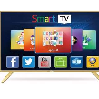 """Ace 32"""" Aluminum Slim HD Smart TV Gold LED-808 DK8 Free Delivery in all NCR Area Cash On Delivery Nationwide"""