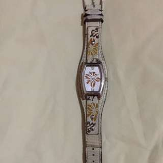 Fossil floral watch
