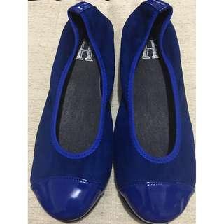 Hyhepunkt Royal Blue Wedge Pumps/Shoes