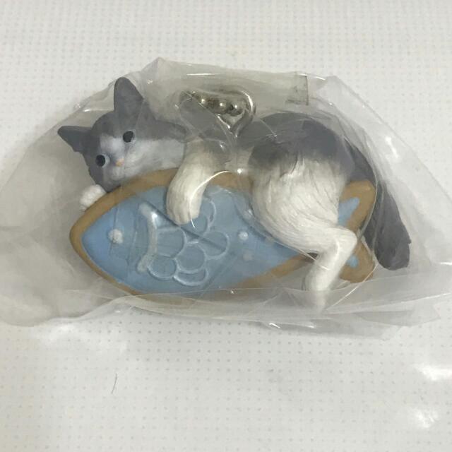 全新點心貓10扭蛋藍色魚餅乾