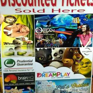Up to 50% off tickets