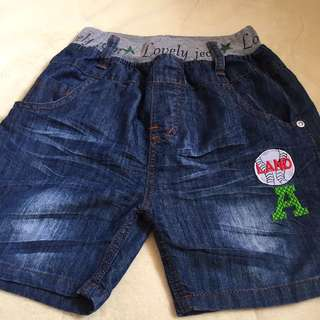 Short with waistband for boy size 5/6y