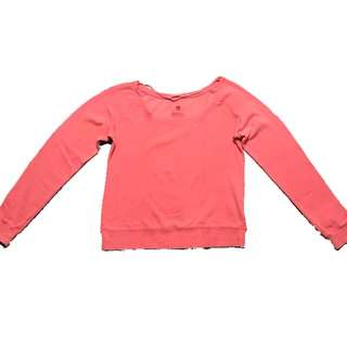 Neon pink pullover   Fox Woman   With slight discoloration, but unnoticeable when worn (see pic 2 & 4)   Never used   Fits S